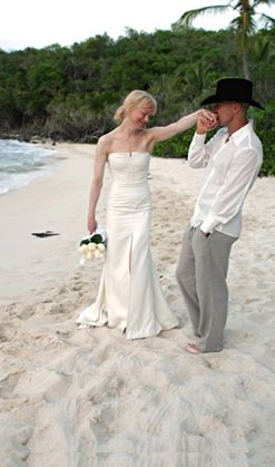 Couple Getting Married On Beach, L.A. County Marriage License Services, Mobile Marriage License and Officiant Services